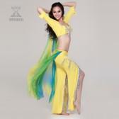 舞姿翼 肚皮舞套装新款 肚皮舞演出服 肚皮舞表演服套装QC2039(市桥天猫)