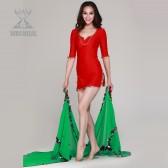 舞姿翼 Malaya肚皮舞练习服 肚皮舞套装新款 肚皮舞服饰QC2036(加盟分销)