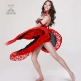 舞姿翼 肚皮舞表演服 肚皮舞演出服套装 肚皮舞五件套QC2016(加盟分销)
