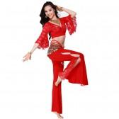 舞姿翼 肚皮舞 套装 新款 肚皮舞演出服套装 肚皮舞服装 QC2079-1(市桥天猫)