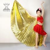 舞姿翼 肚皮舞表演道具 道具金色翅膀 DJ1020(加盟分销)