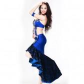 舞姿翼  肚皮舞 服装 套装 新款 印度舞服装演出服 表演服 QC2072(市桥天猫)