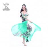 舞姿翼 服装肚皮舞表演服套装 秋冬新款肚皮舞舞蹈服装 QC2133(加盟分销)