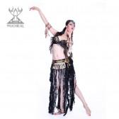 舞姿翼 服装肚皮舞部落风肚皮舞表演服套装 新款肚皮舞服装 BL015(加盟分销)