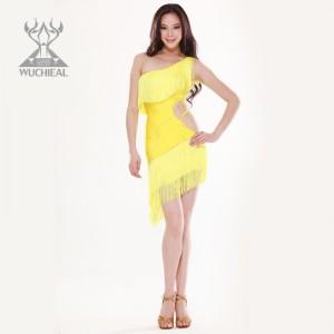 舞姿翼 新款拉丁舞服 热情奔放 流苏拉丁舞服 QC2101(加盟分销)