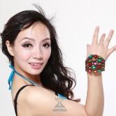 舞姿翼 肚皮舞手链 手饰舞蹈手镯 表演手链 印度舞手饰T55(加盟分销)