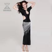 MALAYA肚皮舞演出服套装 新款 旗袍款表演服 练习服套装QC2050(加盟分销)