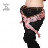 舞姿翼 肚皮舞腰链 印度舞腰链 新款腰链 民族流苏腰链 YL107(加盟分销)