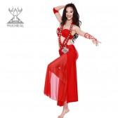 舞姿翼 套装表演服 1月新款 表演服 演出服 4件套 QC2088(加盟分销)