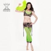 舞姿翼 新款练习服 民族图文印花 神秘典雅 新款套装QC2102(加盟分销)