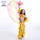 舞姿翼 牛奶丝修身肚皮舞儿童套装 夏季新款三件套RT001(市桥天猫)