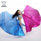 2014年舞姿翼新款肚皮舞道具儿童翅膀DJ-ET02双色翅膀