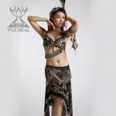 舞姿翼 性感部落风肚皮舞演出服套装 新款肚皮舞服装 BL020(七月新款)