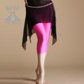 舞姿翼 肚皮舞裤子新款 肚皮舞练习裤 紧身小脚舞蹈裤 QC2231-ku
