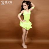 舞姿翼2015新款儿童肚皮舞套装演出服女童表演服RT017