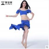 舞姿翼2015春夏肚皮舞套装舞蹈表演服装演出服女练习练功服QC2311