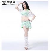 舞姿翼 成人肚皮舞服装表演套装秋新款 表演练习舞蹈表演服QC2337