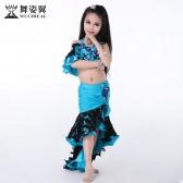 舞姿翼儿童肚皮舞演出套装新款舞蹈表演服装RT055
