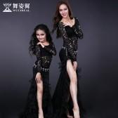 舞姿翼肚皮舞练功服套装亲子装儿童练习服装成人舞蹈服装QC2623/RT093