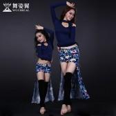 舞姿翼肚皮舞练功服套装亲子装儿童练习服装成人舞蹈服装QC2627/RT092