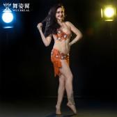 舞姿翼 肚皮舞演出服 表演服套装 鼓舞 新款 舞蹈表演服装2660