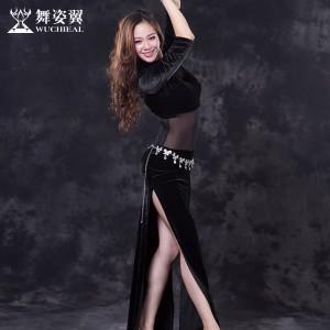 舞姿翼 新款练习服  连体长裙 qc2677