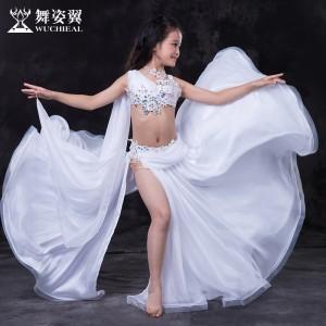 舞姿翼肚皮舞表演服装套装2016新款亲子演出服装 套装rt107