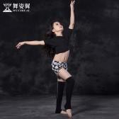 舞姿翼 肚皮舞儿童2017春装新款东方舞舞蹈短裙套装RT117
