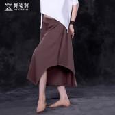 舞姿翼 肚皮舞舞蹈服2017新款 东方舞练习服李佳嵘款裤子QC2728