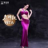 舞姿翼 肚皮舞服装2017新款 印度舞蹈服连衣裙套装名师Rita款QC2739