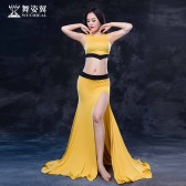 舞姿翼肚皮舞服装女2017新款东方舞初学者练功服成人套装雪雯QC2756