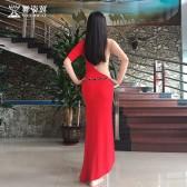 舞姿翼 肚皮舞服装2017新款 练功服套装印度舞服QC2655-1