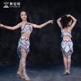舞姿翼儿童肚皮舞套装印度舞蹈服装2017新款夏表演出服RT163