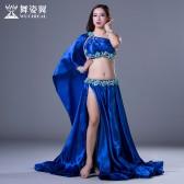 舞姿翼肚皮舞套装印度舞蹈服装2017新款表演服QC2798