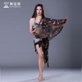 舞姿翼肚皮舞套装印度舞蹈服装2017新款表演服QC2536-2