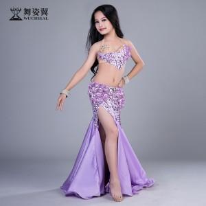 舞姿翼肚皮舞套装印度舞蹈服装2017新款儿童表演服RT186