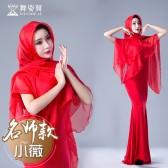 舞姿翼 肚皮舞套装2017新款 东方舞练功服名师小薇款QC2826