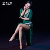 舞姿翼肚皮舞演出服2017新款女舞蹈表演服装袍子套装qc2809