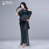 舞姿翼肚皮舞服装女2017新款东方舞练功服成QC2780