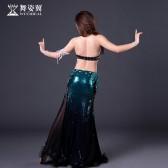 舞姿翼肚皮舞套装2018新款表演服高档演出服私人定制DZ200
