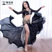 舞姿翼儿童肚皮舞表演出服装2018新款裙子时尚套装舞蹈服款RT250