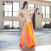 舞姿翼肚皮舞表演服装女2018新款演出服QC3011