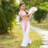 舞姿翼儿童肚皮舞练功服2019新款夏中国风旗袍东方舞蹈套装RT367