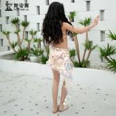 舞姿翼儿童肚皮舞表演出服2019新款闪光亮片东方舞蹈服套装RT357