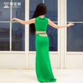 舞姿翼儿童肚皮舞练习服2019新款长裙初学者东方套装RT366