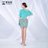 舞姿翼肚皮舞练功服女2019新款夏季套装郭甜甜款QC3089