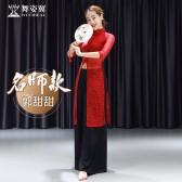 舞姿翼肚皮舞练功服2019新款夏中国风旗袍东方舞蹈套装QC3022