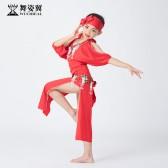 舞姿翼儿童肚皮舞表演服装2019新款演出服袍子RT385