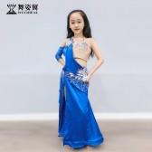 舞姿翼儿童肚皮舞表演服装2019新款演出服RT386