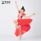 舞姿翼儿童肚皮舞裙表演服装2019新款演出服套装RT389